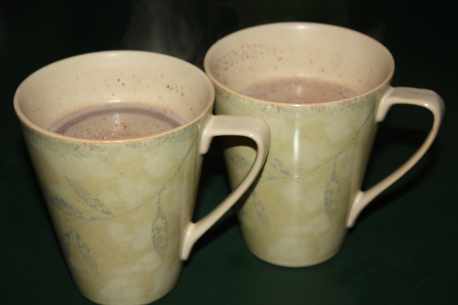 HotChocolateInMugs